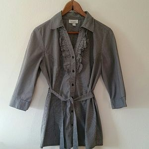 Dressbarn button down blouse